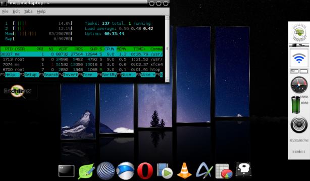 Sample Bodhi Enlightenment Desktop